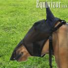 Equivizor Fly Mask (with nose flap and ears) - Pony